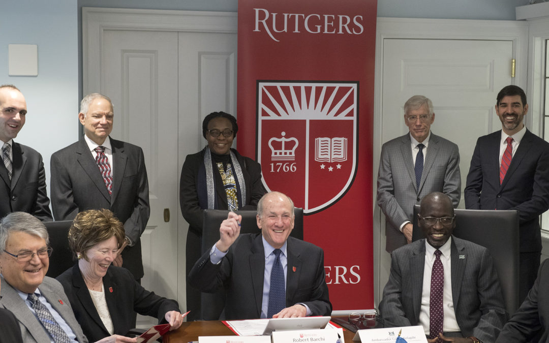 Rutgers Establishes Collaborative Partnership With Botswana