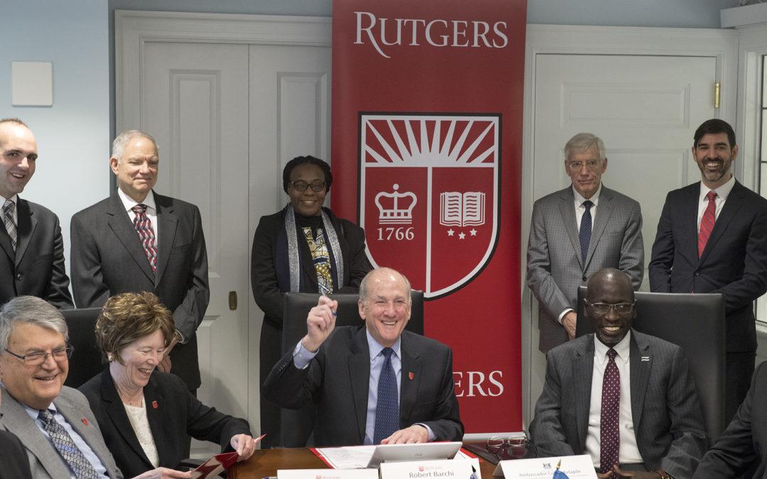 Rutgers Establishes Collaborative Partnership With Botswana