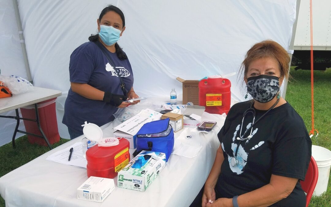 New Brunswick Community Farmers Market COVID-19 Vaccination Clinics a Success