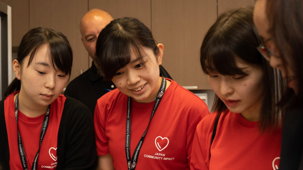 Fifth team of Japanese nursing students participates in annual simulation training